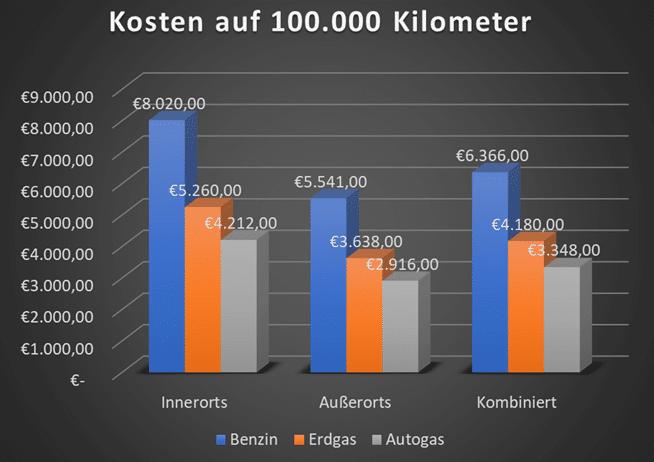 Kosten Auf 100 000 Kilometer 1